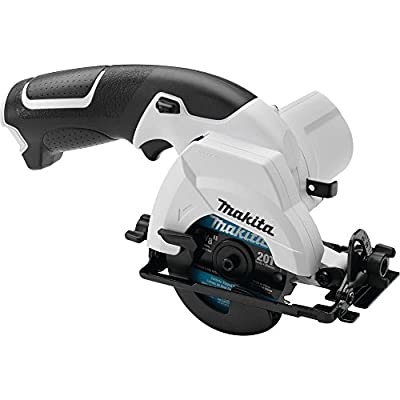 "Makita SH01ZW 12V max Lithium-Ion Cordless 3-3/8"" Circular Saw, Tool Only"