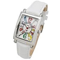 [ミッシェルジョルダン]michel Jurdain 腕時計 スポーツ ダイヤモンド レザー レディース ホワイト SL-3000-6 レディース