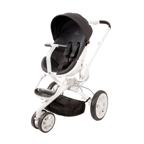 Quinny Moodd Stroller, Black Irony front-911407
