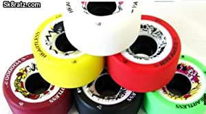 Heartless Chaser Wheels - 92A Yellow - Roller Derby Skate Wheels