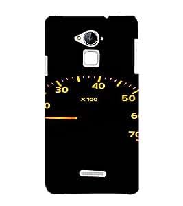 PrintVisa Speedometer Design 3D Hard Polycarbonate Designer Back Case Cover for Coolpad Note 3