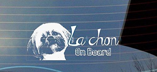 La Chon a Bordo auto-adesivo, colore: bianco