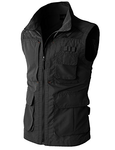 H2H Mens Casual Work Utility Hunting Travels Sports Vest