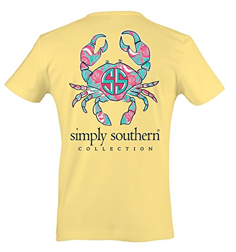 Simply Southern Women's Preppy Crab Sunrise XL (Southern Shirt Company Xl compare prices)