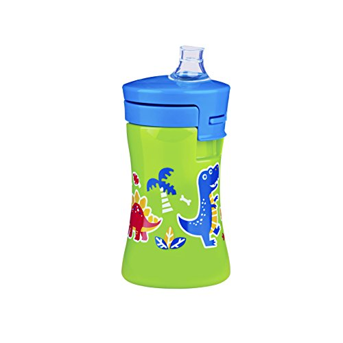 Gerber Graduates Advance Developmental 1-Piece Sippy Cup in Assorted Patterns, 10-Ounce - 1