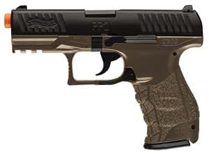 Amazon.com : Walther PPQ Spring Airsoft Pistol, Dark Earth