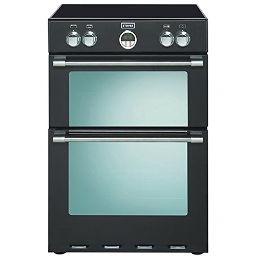 Stoves STERLING 600MFTI BLACK 600mm Electric Cooker Induction Hob Multi Function