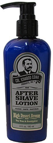 Col. Ichabod Conk High Desert Breeze Aftershave Lotion 6 fl. oz. by Col. Ichabod Conk Products Inc.