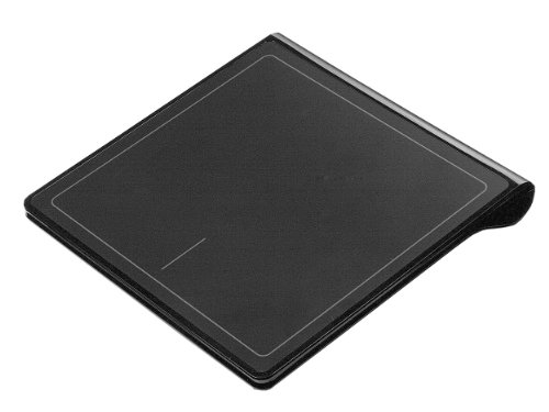 Perixx Peripad-702, Wireless Touchpad With Windows 8 Multi-Touch Navigation - 5.16X5.08X0.63 Inch Dimension - Nano Receiver - On/Off Switch - 2Xaaa Duracell Batteries