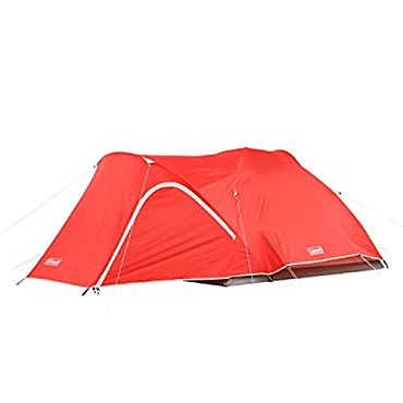 Coleman Hooligan 4-Person Tent,Red