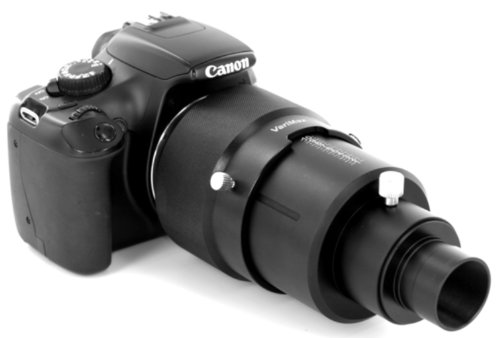 """Varimax Pro-Series 1.25"""" Variable Eyepiece Projection Dslr Camera Adapter For Telescopes"""