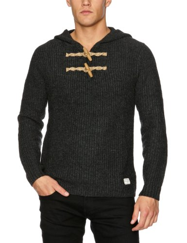 Cottonfield Christon Men's Jumper Dark Grey Melange Medium