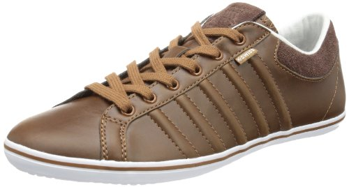 K-Swiss Hof IV VNZ Trainers Mens Brown Braun (Cowboy/White) Size: 7.5 (41.5 EU)