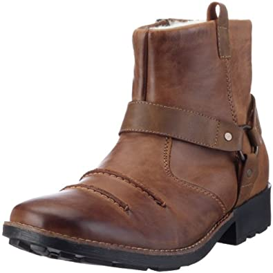 rieker 36062 herren biker boots braun tabak zimt 26 eu 48 schuhe handtaschen. Black Bedroom Furniture Sets. Home Design Ideas
