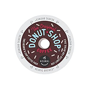 Keurig, The Original Donut Shop, Regular, Medium Extra Bold, K-Cup packs, (Reguler 144 Count,)
