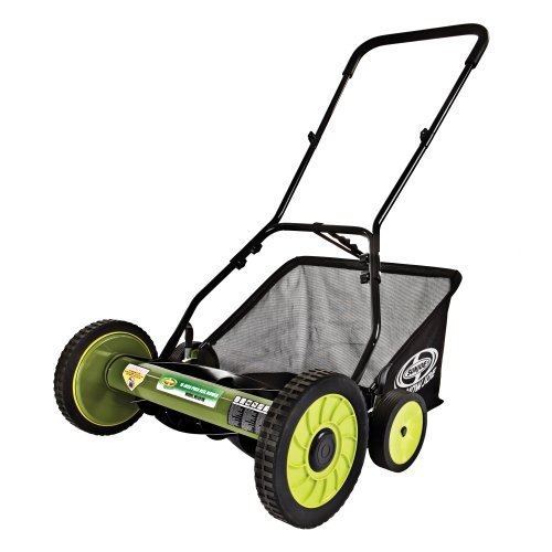 Sun Joe Mow Joe MJ501M 18-Inch Manual Reel Mower with Catcher picture