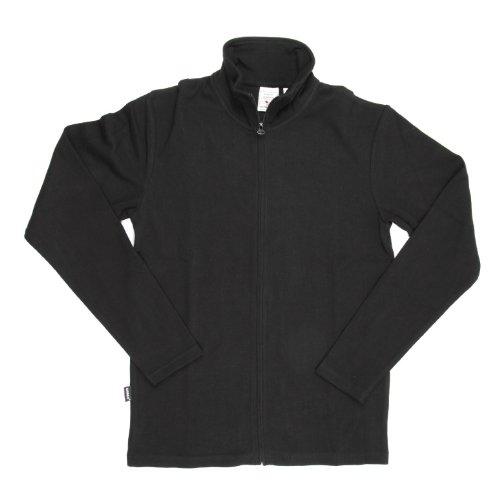 (アビレックス) AVIREX アビレックス デイリー ロングスリーブ スタンド ジップ ジャケット 6103042 (XL, 09 Black)