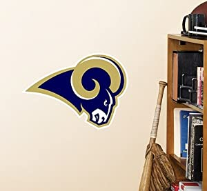NFL St Louis Rams Teammate Logo Wall Sticker Decal by NFL