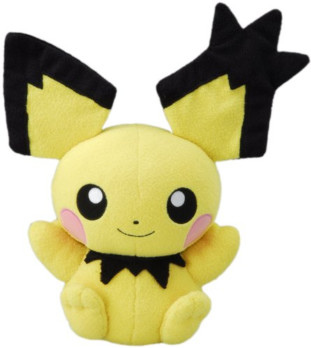 Pokemon Talking Plush Gizamimi Pichu Takaratomy Import From Japan