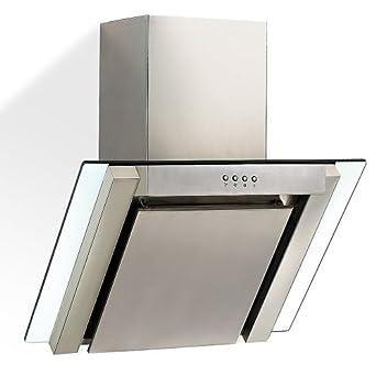 hotte aspirante avec verre 60 x 55 x 60 cm avec chemin e extensible en hauteur 60 98 cm. Black Bedroom Furniture Sets. Home Design Ideas