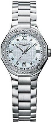 Baume & Mercier Women's 8597 Riviera Swiss Diamond Watch