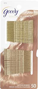 Goody Colour Collection Metallic Finish Bobby Pin, Blonde (Pack of 3)