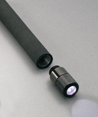 Black Expandable Baton End LED LightB001D4LVQE
