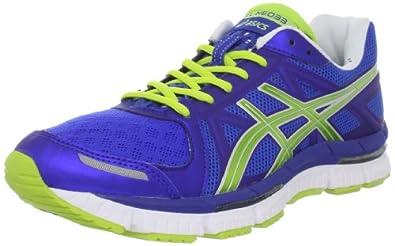 ASICS Men's GEL-Neo33 Running Shoe,Royal Blue/Limeade/White,8.5 M US