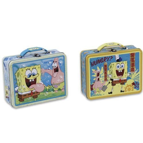 "1 X Spongebob Squarepants Lunch Bag/tin Box ""Bubbles"" - 1"