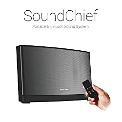 Portronics SoundChief (Black) Multimedia Stereo Sound System with Remote Control and 72W Speaker Supports Bluetooth, Micro SD, USB, COA Cable, AF Cable, 3.5 mm AUX Inputs