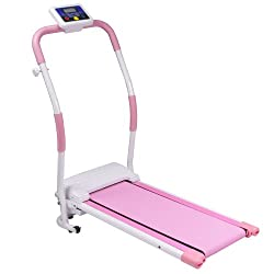 PURE RISE(ピュアライズ) 電動 ウォーキング マシン ルーム ウォーカー ランナー プログラム 機能搭載 ピンク