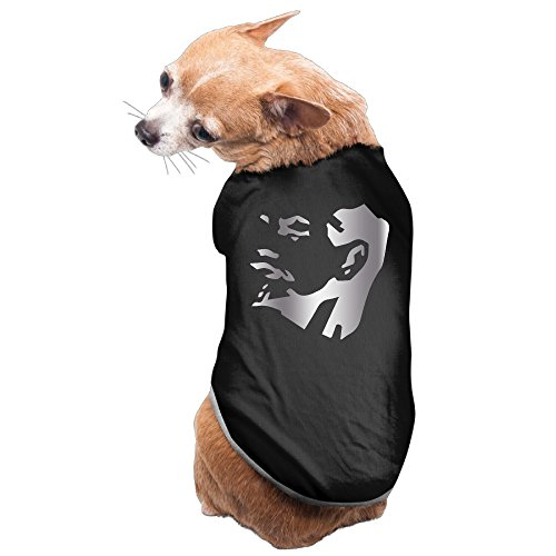 [Black WWLD What Would Lenin Do Ru Platinum Style Pet Dog T-shirt Coat] (Karl Marx Costume)