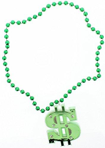 Jumbo Cash Money Pimp Dollar Sign Necklace (Necklace Dollar Sign Jumbo)