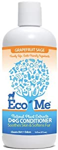 Eco-Me Dog Conditioner, Frag Free, 16-Ounce