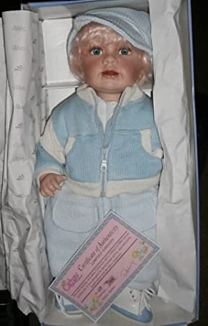 Cathay Collection Porcelain Doll - DAVID