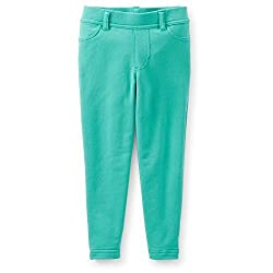Carters Girls Stretch Knit Denim Pants Turquoise 6M