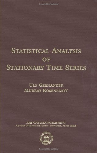 Statistical Analysis of Stationary Time Series (AMS Chelsea Publishing)