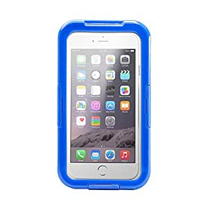 Gearonic Waterproof Shockproof Dirt Snow Proof Durable Touch Screen Case for Apple 4.7-Inch iPhone 6 - Non-Retail Packaging - Blue
