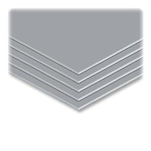 Elmer's 951037 Elmer's Colored Foam Board, 20 x30, 10 Boards/Carton, Graystone