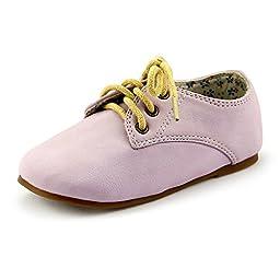 The Doll Maker Girl\'s Glassic Light Purple Oxford - Size: Toddler 8
