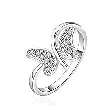 buy Sunifsnow Women Smart Butterfly Creative Personality Diamond Ring 7