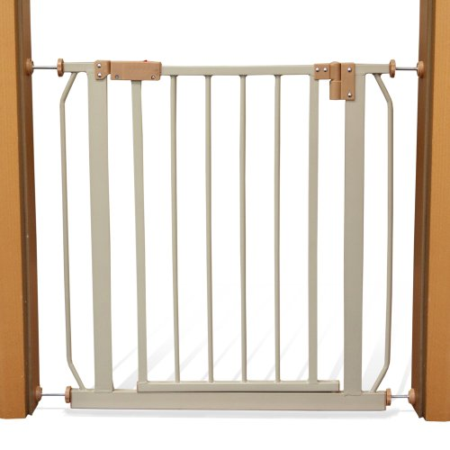 Buy Cheap TecTake Metal Safety Gate Baby Child Children Barrier Pet Dog  Barriers For Doors Stairs