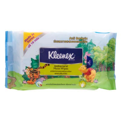 Kleenex Wet Wipes 40 Sheets 10 Sheets. front-481950