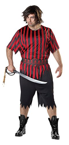 Totally Ghoul Mens Pirate Halloween Costume NWT XXL 50-52