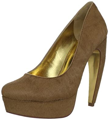 Ted Baker Women's Sawp Platform Pump,Tan,7 M US