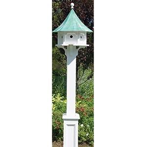 Good Directions Lazy Hill Farm Designs 51501 Cedar Brackets for Bird Houses, Small, White, Set of 4