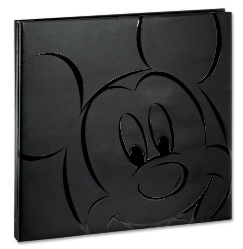Ek Success Disney DALM003 Black Mickey 12-by-12