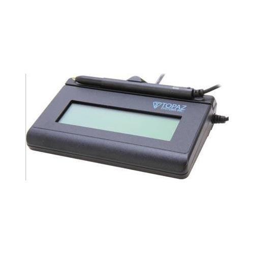 Topaz T L460 Siglite Lcd 1x5 Electronic Signature Pad: Topaz T-LBK766SE-BBSB-R SignatureGem LCD 4x5 Signature