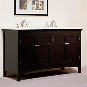 Charmant Double Bathroom Vanity Cabinet 60 Inch