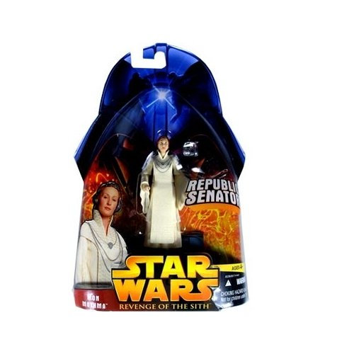 Star Wars E3 Revenge of the Sith Action Figure #24 Mon Mothma (Republic Senator)
